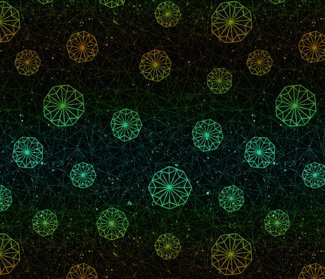 constellation fabric by mairaegito on Spoonflower - custom fabric