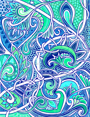 Tangled Paisley Blues