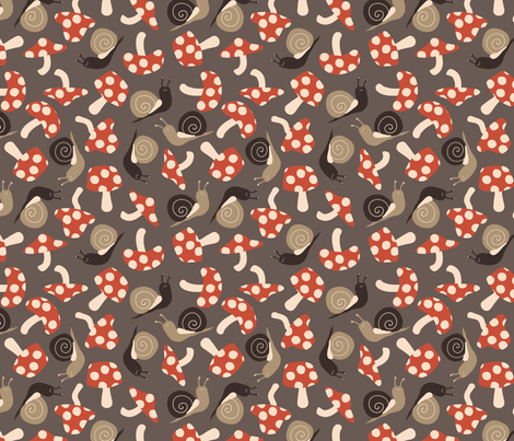 Forest Floor - Soil fabric by hugandkiss on Spoonflower - custom fabric
