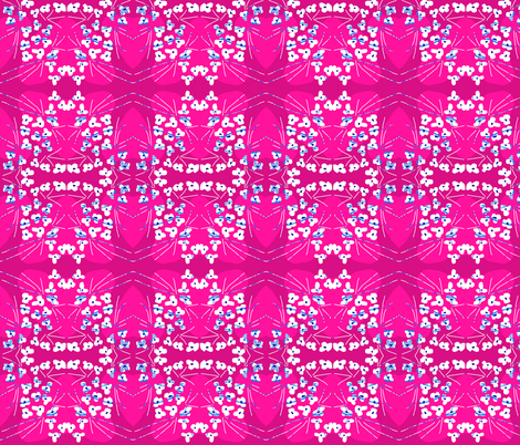 Scattered Bouquet fabric by robin_rice on Spoonflower - custom fabric
