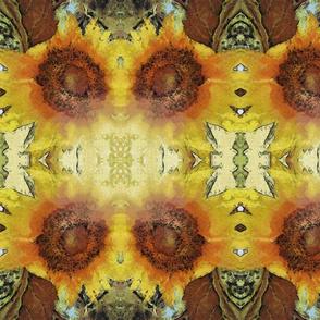 ethnic sunflower