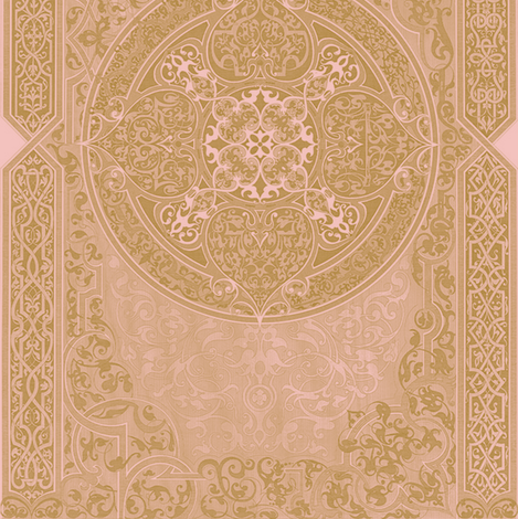 Versailles Rug fabric by peacoquettedesigns on Spoonflower - custom fabric