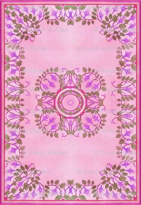 Art Nouveau Tile ~ Freesia Tile