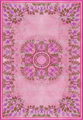 Art Nouveau Tile ~ Freesia Jacquard