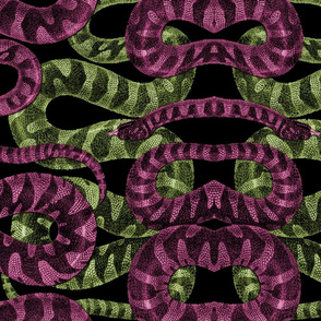 Snake Stripe ~ Envy and Lust