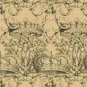 Crown_damask___parchment___peacoquette_designs___copyright_2017_shop_thumb