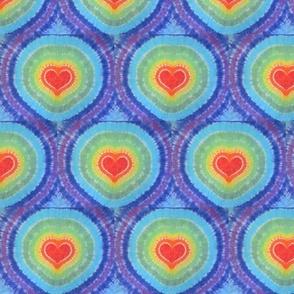 tie dye rainbow hearts