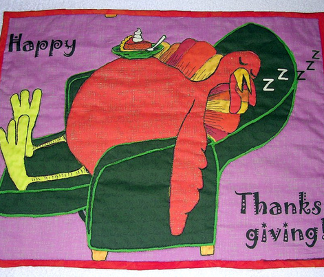 Stuffed Turkey w/ Pumpkin Pie large scale