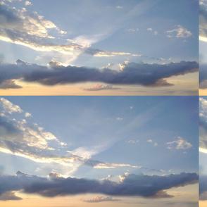 cloudy sky over Muurla