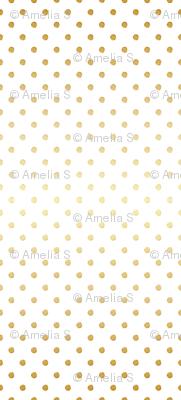 Gold Dust Gradient Dots
