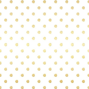 Gold Dust Gradient Dots