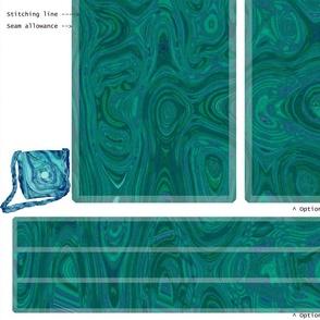 DIY Handbag - More Malachite