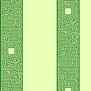 Maze Stripe - Green