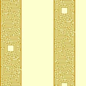 Maze Stripe - Orange