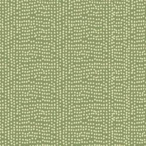 Dots Seaweed Green