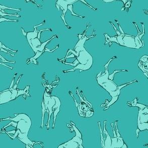 Omnidirectional Deer Blue