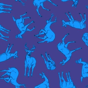 Omnidirectional Deer Purple and Blue
