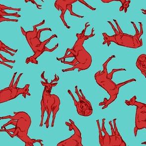 Omnidirectional Deer Berry and Aqua