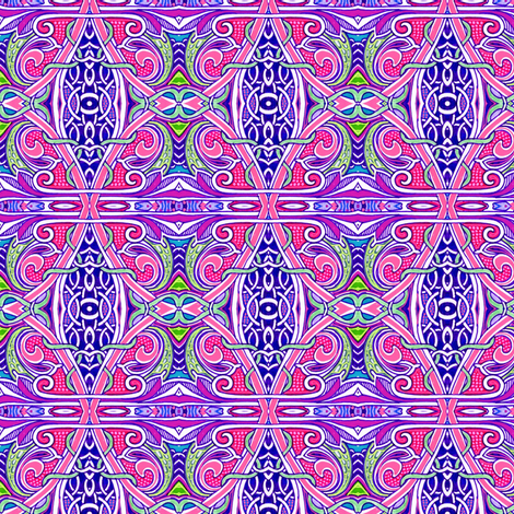 Beyond the Magenta Grate fabric by edsel2084 on Spoonflower - custom fabric
