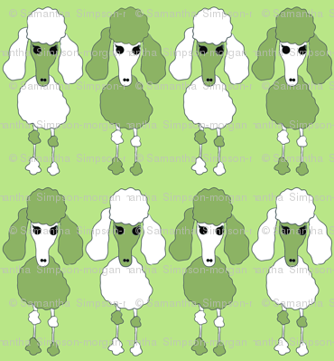 Poodle Army - Green