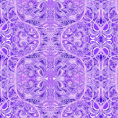 Lavender Forever fabric by edsel2084 on Spoonflower - custom fabric