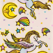 Unicorn Sticker Book Print