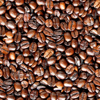 Coffee Beans Fabric Punqd Designs Spoonflower