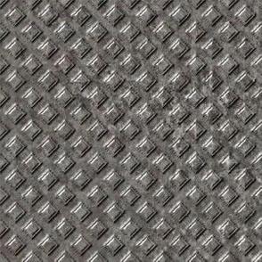 Raised Metal Grid Pattern