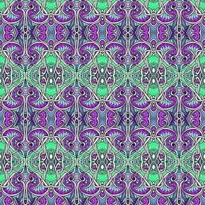 Alien Sprouts (green/purple)