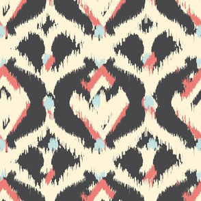 Abstract Ikat