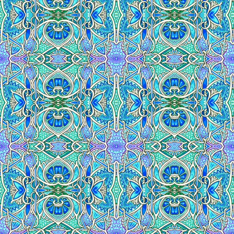 Put Down Those Pinking Shears and Nobody Gets Hurt fabric by edsel2084 on Spoonflower - custom fabric