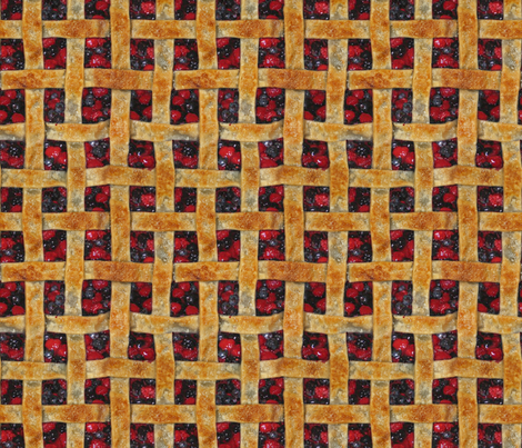 Perpetual Pie Plaid fabric by saunterstyle on Spoonflower - custom fabric