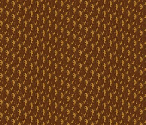 Arabesque Leaf - Oranges fabric by juliematthews on Spoonflower - custom fabric