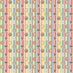 Zoo Pattern Stripes