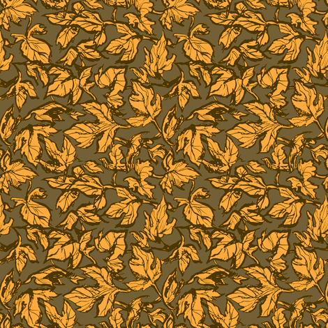 Autumn Leaves fabric by loeff on Spoonflower - custom fabric