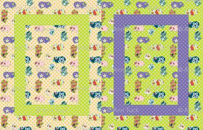 Baby Blanket - Guinea Pigs - Girl