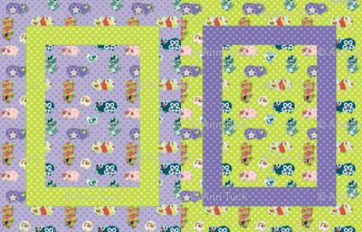 Baby Blanket Guinea Pigs - Gender Neutral.