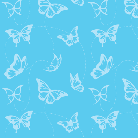 112-Butterflies fabric by witee on Spoonflower - custom fabric