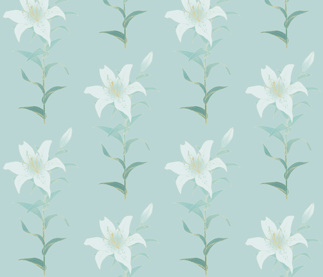 Lily fabric by gail_mcneillie on Spoonflower - custom fabric