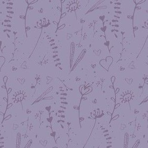 Lavender Doodles