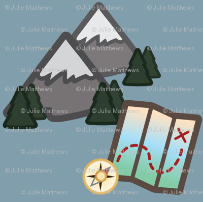 Woodland Travel - Mountains and Maps