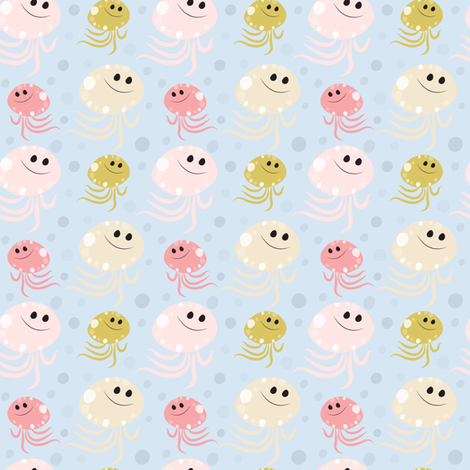 130_Octopus fabric by witee on Spoonflower - custom fabric