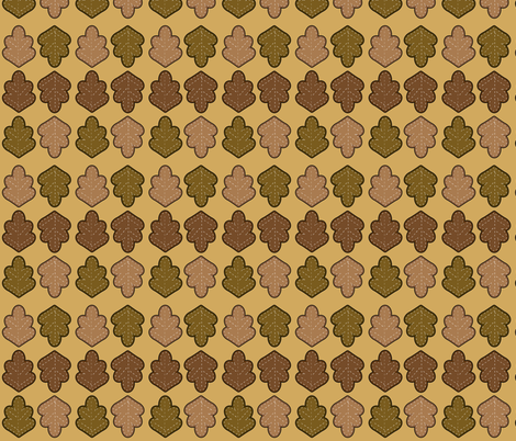 Autumn Harvest Leaves fabric by juliematthews on Spoonflower - custom fabric
