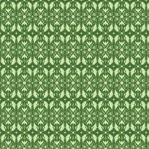 Abstract Leaves - Green