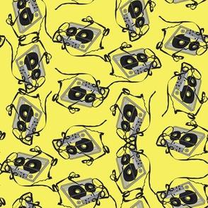 cassette yellow