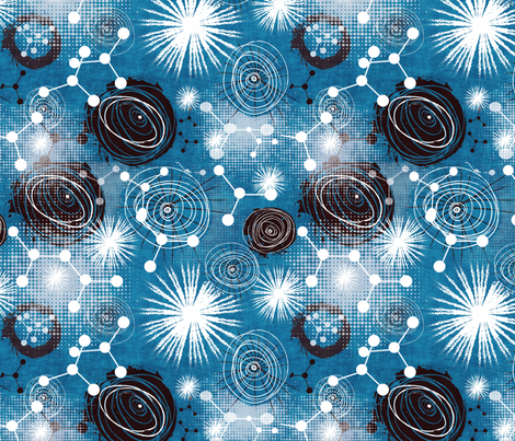 stargazing fabric by kociara on Spoonflower - custom fabric