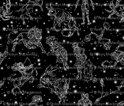 Greco-Roman Astrological Sky