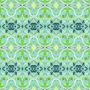 Hexatangled Screen Door Grate