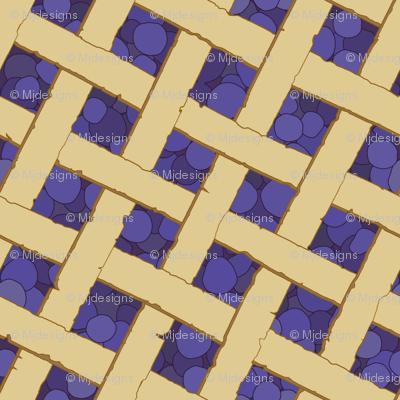 """Summer Picnic"" Blueberry Pie"