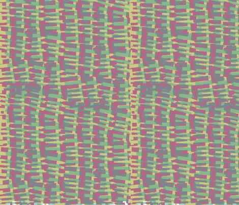 Wonky check fabric by lizplummer on Spoonflower - custom fabric